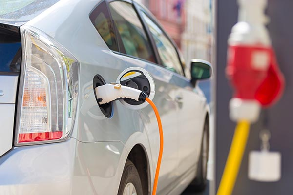 Electric Vehicle Plug Installation